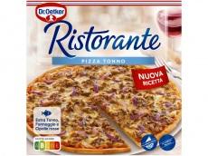 Ristorante pizza tonno product foto
