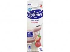 Yoghurt aardbei product foto