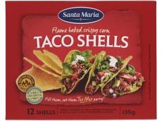 Taco shells product foto
