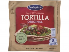 Original soft tortilla product foto