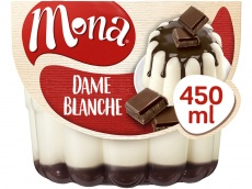 Dame blanche pudding product foto