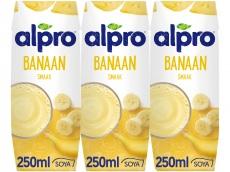 Sojadrink banaan  3 x 250 ml product foto