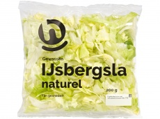 IJsbergsla naturel product foto