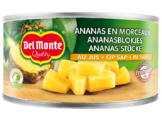 Ananasblokjes op sap product foto