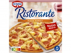 Ristorante pizza hawaii product foto