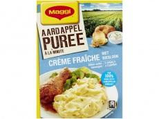 Aardappelpuree crème fraïche product foto