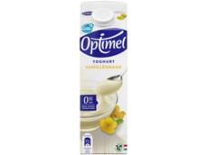 Yoghurt vanille product foto