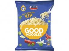 Good noodles met de smaak van kip product foto
