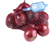Rode uien product foto