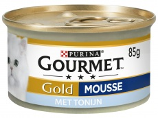 Gold mousse met tonijn product foto