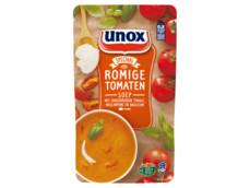 Soep in zak speciaal romige tomatensoep product foto