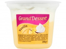 Grand dessert vanille product foto
