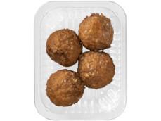 Gebraden gehaktballen naturel product foto
