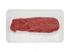 Varkenshaas naturel culinair product foto