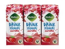Aardbei yoghurtdrink 6-pak product foto