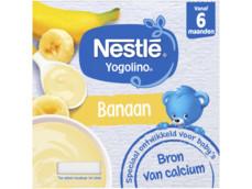 Yogolino Banaan 6+ mnd baby toetje product foto
