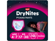 Dry nites 4-7 girl product foto