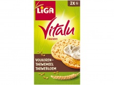 Vitalu crackers volkoren product foto
