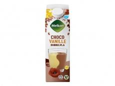 Dubbelvla vanille chocolade product foto