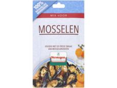 Kruidenmix mosselen met groenten product foto