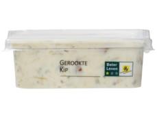 Gerookte kip salade product foto