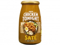 Roerbaksaus chicken tonight saté product foto