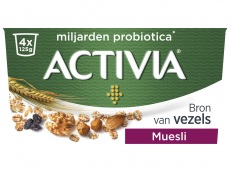 Yoghurt muesli product foto