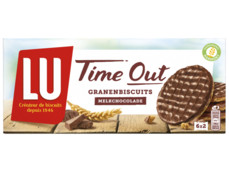 Time out biscuit chocolade product foto
