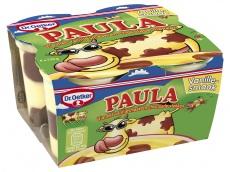 Paula vanillevla met chocoladevlekken product foto