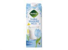 Magere melk 0% vet melk product foto