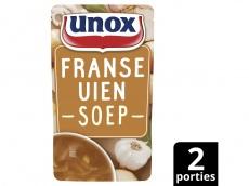 Soep in zak speciaal Franse uiensoep product foto