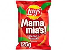 Mama mia's paprika kaas chips product foto