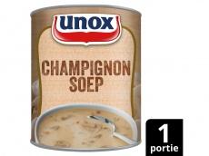 Soep in blik stevige champignonsoep product foto