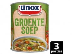 Soep in blik originele groentesoep product foto