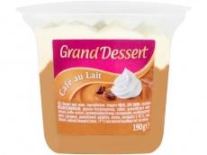 Grand dessert café au lait product foto