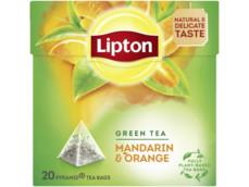 Groene thee mandarin orange product foto
