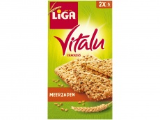 Vitalu crackers meerzaden product foto