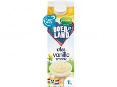 Boer en Land vanille vla product foto