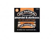 Repen met amandelen, abrikozen en yoghurtlaagje product foto