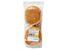 Hamburgerbroodjes sesam product foto