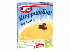 Kloppudding banaan product foto
