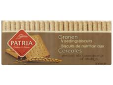 Volkoren voedingsbiskwie product foto