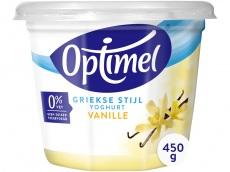 Yoghurt Grieks vanille product foto