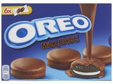 Omhuld met melkchocolade 6x2 stuks product foto
