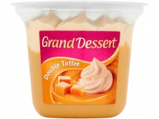 Grand dessert double toffee product foto