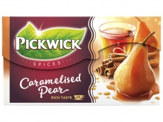 Spices caramelised pear zwarte thee product foto