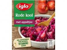 Rode kool met appeltjes product foto