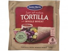 Tortilla whole wheat product foto