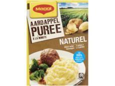 Aardappelpuree a la minute naturel product foto