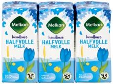 Halvolle melk houdbaar 6-pak product foto